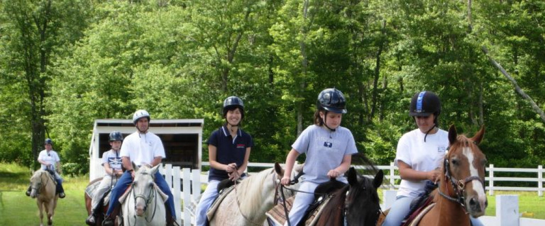 We offer horseback riding to people of all ages and experience, so don't miss out.